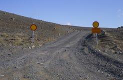 Κλειστός F26 δρόμος Στοκ Φωτογραφία