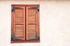 Κλειστό αγροτικό παράθυρο Στοκ Εικόνες