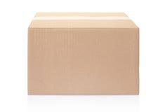 Κλειστό κουτί από χαρτόνι Στοκ Φωτογραφία