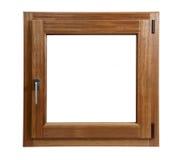 κλειστό παράθυρο ξύλινο Στοκ εικόνα με δικαίωμα ελεύθερης χρήσης