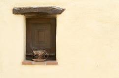 Κλειστό παλαιό παράθυρο Στοκ εικόνα με δικαίωμα ελεύθερης χρήσης