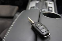 Κλειδί για ένα αυτοκίνητο πολυτέλειας Στοκ εικόνα με δικαίωμα ελεύθερης χρήσης