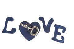 Κλειδί για την καρδιά μου Στοκ εικόνα με δικαίωμα ελεύθερης χρήσης