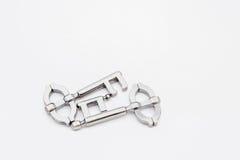 Κλειδί γρίφων μετάλλων Στοκ Εικόνες