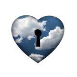 Κλειδί ελευθερίας Στοκ φωτογραφία με δικαίωμα ελεύθερης χρήσης
