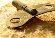 Κλειδί μηχανισμού κουρδίσματος Στοκ εικόνα με δικαίωμα ελεύθερης χρήσης