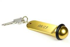 Κλειδί 01 ξενοδοχείων Στοκ Φωτογραφίες
