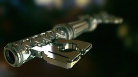 Κλειδί που ξεκλειδώνει την πόρτα διανυσματική απεικόνιση