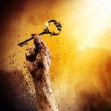 Κλειδί της επιτυχίας Στοκ Φωτογραφία