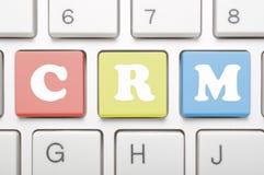 Κλειδί Crm στο πληκτρολόγιο Στοκ Φωτογραφίες