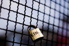 Κλειδαριά για μας Στοκ φωτογραφία με δικαίωμα ελεύθερης χρήσης