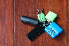 Κλειδαριά και κλειδαριά Στοκ φωτογραφία με δικαίωμα ελεύθερης χρήσης