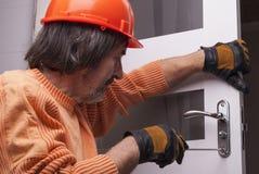Κλειδαριά πορτών επισκευής στοκ φωτογραφίες με δικαίωμα ελεύθερης χρήσης