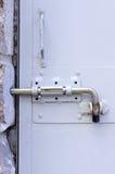 Κλειδαριά πορτών μετάλλων Στοκ Φωτογραφία