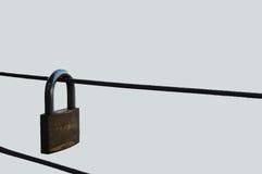 Κλειδαριά σε έναν φράκτη Στοκ εικόνα με δικαίωμα ελεύθερης χρήσης