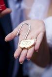 Κλειδαριά σε διαθεσιμότητα Στοκ φωτογραφία με δικαίωμα ελεύθερης χρήσης
