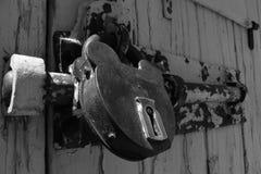 Κλειδαριά σε μονοχρωματικό Στοκ Εικόνες