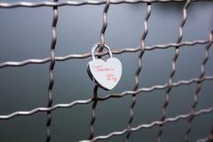 Κλειδαριά στη γέφυρα Στοκ Εικόνες