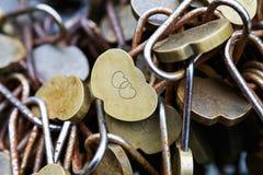 Κλειδαριά χαλκού Στοκ Φωτογραφίες