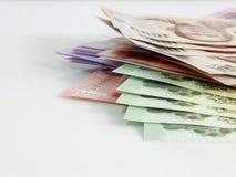 Κλειδαριά χρημάτων αποταμίευσης Φ στενό σε επάνω υποβάθρου Στοκ Φωτογραφία
