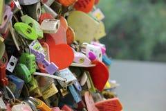 Κλειδαριές αγάπης Στοκ Εικόνα