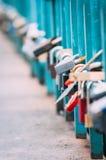 Κλειδαριές αγάπης! Στοκ Φωτογραφίες