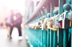 Κλειδαριές αγάπης! Στοκ φωτογραφίες με δικαίωμα ελεύθερης χρήσης