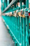 Κλειδαριές αγάπης ` s! Στοκ εικόνες με δικαίωμα ελεύθερης χρήσης