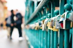 Κλειδαριές αγάπης ` s! Στοκ φωτογραφίες με δικαίωμα ελεύθερης χρήσης