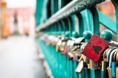 Κλειδαριές αγάπης ` s! Στοκ Εικόνα