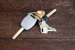 Κλειδιά αυτοκινήτων. Στοκ Φωτογραφίες