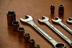 Κλειδιά γαλλικών κλειδιών ANS Στοκ εικόνες με δικαίωμα ελεύθερης χρήσης