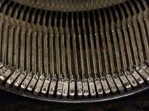 Κλειδιά γραφομηχανών Στοκ φωτογραφία με δικαίωμα ελεύθερης χρήσης