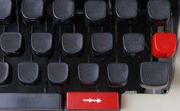 Κλειδιά γραφομηχανών Στοκ εικόνες με δικαίωμα ελεύθερης χρήσης