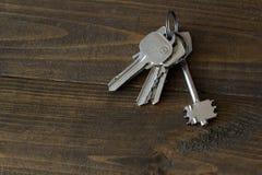 Κλειδιά πορτών σιδήρου επάνω Στοκ Εικόνες
