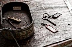 Κλειδιά που εγκαταλείπονται παλαιά Στοκ Φωτογραφία