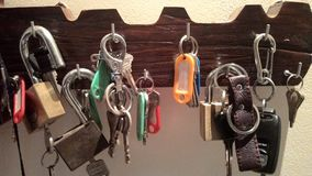 Κλειδιά Στοκ εικόνα με δικαίωμα ελεύθερης χρήσης