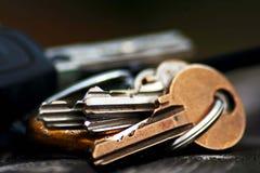 Κλειδιά Στοκ φωτογραφίες με δικαίωμα ελεύθερης χρήσης