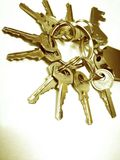 Κλειδιά Στοκ Εικόνες