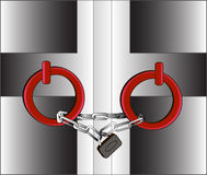 Κλειδωμένη πόρτα 1 Στοκ φωτογραφία με δικαίωμα ελεύθερης χρήσης