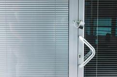 Κλειδωμένο γραφείο Στοκ Φωτογραφίες