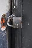 κλειδωμένο λουκέτο Στοκ Εικόνα
