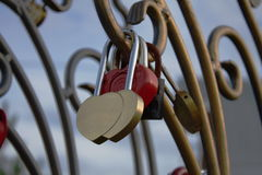 Κλειδώματα της αγάπης Στοκ φωτογραφία με δικαίωμα ελεύθερης χρήσης