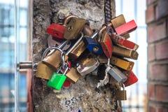 Κλειδώματα της αγάπης Στοκ φωτογραφίες με δικαίωμα ελεύθερης χρήσης