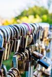 κλειδώματα Στοκ Φωτογραφίες