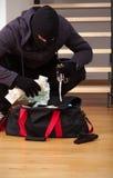 Κλεμμένη goodies τσάντα Στοκ εικόνες με δικαίωμα ελεύθερης χρήσης