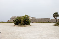 κληρονομιά ΙΙ κάστρων frederick κόσμος της ΟΥΝΕΣΚΟ των Συρακουσών περιοχών της Ιταλίας maniace Σικελία Στοκ Εικόνα