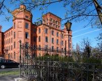 Κληρονομιά Scheibler εργοστασίων Στοκ φωτογραφίες με δικαίωμα ελεύθερης χρήσης