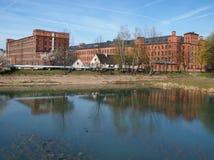 Κληρονομιά Scheibler εργοστασίων Στοκ Φωτογραφία