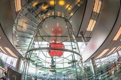 Κλιμακοστάσιο στη Apple Στοκ Εικόνες